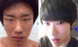 Chàng xí trai hô biến thành hot boy nhờ make-up đỉnh