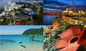 10 nơi phải đến đẹp mê hồn khi vi vu Malaysia