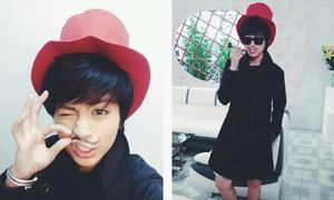 Facebook sao 6/4: 'Mr.Gil Lê' bảnh bao với bộ râu mới vẽ