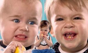 Video siêu kute: Lần đầu ăn chanh của các bé