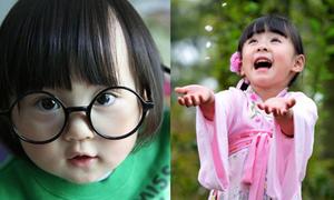 8 nhóc tỳ 'thiên thần' chao đảo mạng Trung Quốc