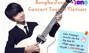 Chơi mini game, nhận vé xem thần đồng guitar Hàn