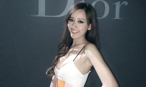 Mai Phương Thúy diện váy trễ nải dự show Dior