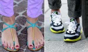 Tác hại của từng kiểu giày, dép tới đôi chân