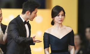 Huỳnh Hiểu Minh kè kè bên cạnh Song Hye Kyo
