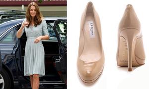 Công nương Kate 3 năm diện không biết chán một đôi giày