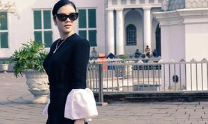 Hot or not: Lý Nhã Kỳ diện áo tay bồng lạ mắt