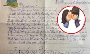 Cười ngất 5 thư tỏ tình 'bá đạo' của học sinh tiểu học