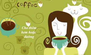 Thưởng thức cà phê mix thảo quả thơm lạ