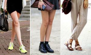 7 kiểu giày phi giới tính nam nữ đều diện đẹp
