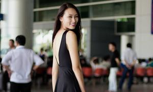 Trang Khiếu bất ngờ đổi style nữ tính