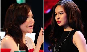 Hồ Quỳnh Hương chạm mặt giai nhân Hà Dũng tại X-Factor