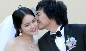 Han Ga In mang thai con đầu lòng