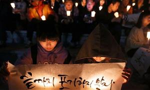 Thầy giáo tự tử muốn được rắc tro cốt nơi phà Sewol chìm