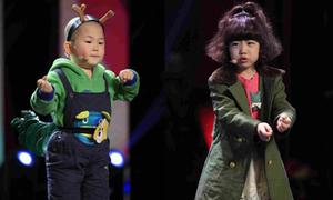 Màn nhảy nhót cực yêu của hai nhóc tì 'sốt' cộng đồng mạng