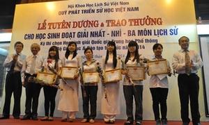 200 học sinh giỏi quốc gia môn Sử được vinh danh