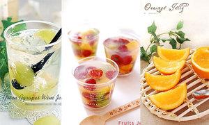 Tổng hợp 12 món thạch được chế biến từ hoa quả