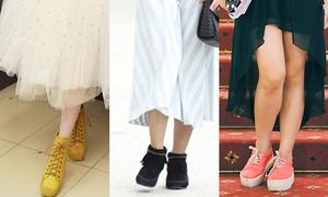 Những đôi giày kéo tụt phong độ của xì ta