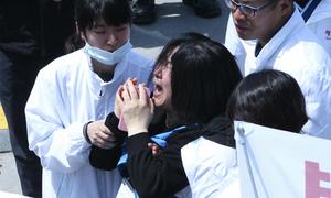 48 nữ sinh tử nạn chung một phòng trên phà Sewol