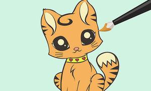 Trổ tài vẽ những chú mèo đáng iu bằng 8 cách