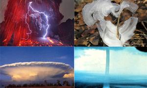 Những hiện tượng thiên nhiên kỳ thú thế giới