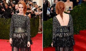 Hot or not: Kristen Stewart diện váy tầng cầu kỳ