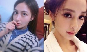 Những sao nữ gốc Hoa khó phân biệt vì mặt mũi giống nhau
