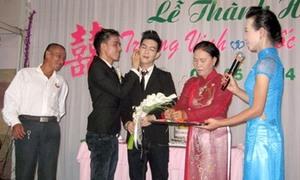 Đám cưới đồng tính hạnh phúc của hai chàng trai Tiền Giang
