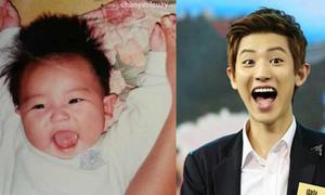 EXO biểu cảm mặt thuở bé giống hệt khi lớn