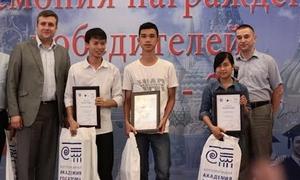 3 học sinh Việt nhận học bổng du học Nga về điện hạt nhân