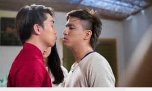 Tăng Nhật Tuệ suýt hôn Ngọc Trai trong tích tắc