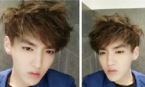 Sao Hàn 12/5: Kris (EXO) tự sướng với mặt V-line hoàn hảo