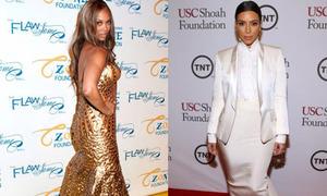 Black list tuần: Tyra Banks, Kim 'béo ú' với đầm bó