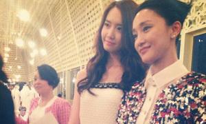 Yoon Ah cao nổi bật bên Châu Tấn, Dakota Fanning