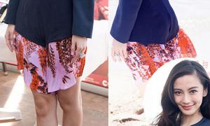 Hot or not: Angelababy diện quần lai váy kém lịch sự