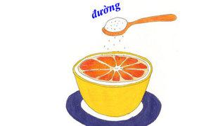 Cách ăn cam kiểu mới cực ngon