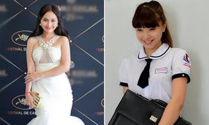 Kim Hiền lộng lẫy tại Cannes, Hải Băng đóng nữ sinh phạm tội