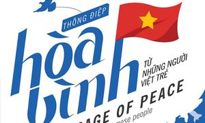 Tranh hòa bình gửi toàn thế giới của người Việt trẻ