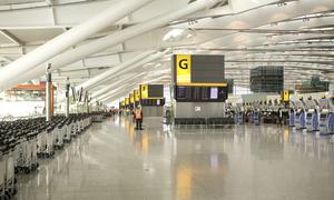 Samsung quảng bá Galaxy S5 tại sân bay Heathrow của Anh