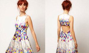 Tái chế váy cũ thành váy mới cut out sành điệu