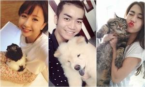 Hot teens Việt nhắng nhít khoe hình thú cưng cực yêu
