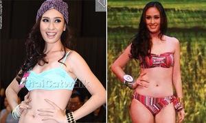Tân Hoa hậu Hoàn vũ Thái Lan bị chê thấp bé, người thô