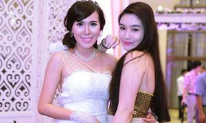 Bảo Phương đọ xinh với cô dâu Mai Thỏ