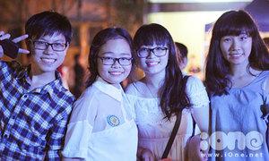 Teen Kim Liên rạng rỡ trong ngày hội trường