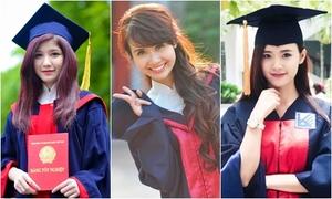 Hot girls Việt xinh rạng ngời trong màu áo cử nhân