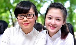Những teen girl xinh ngất ngây mùa bế giảng 2014