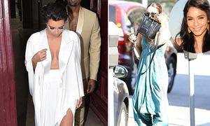 Black list tuần: Kim diện váy cưới hở quá đà, Vanessa luộm thuộm