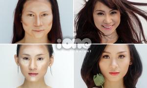 4 kiểu tạo khối tùy theo nhược điểm gương mặt