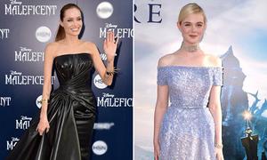 Angelina Jolie huyền bí, Elle Fanning lộng lẫy như công chúa