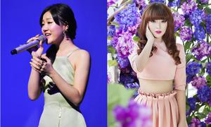 Văn Mai Hương đẹp dịu dàng, Hải Băng đau khổ vì yêu Huỳnh Anh